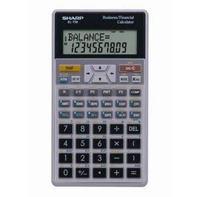 Sharp EL-738 - Advanced Financial Calculator